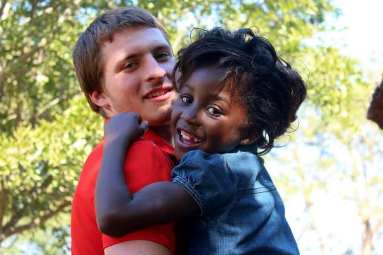 One of the two kids I chose to sponsor