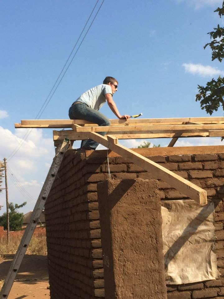 One of our projects while in Malawi