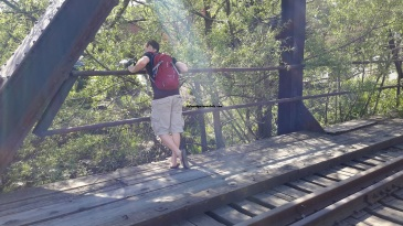 Peter by railroads